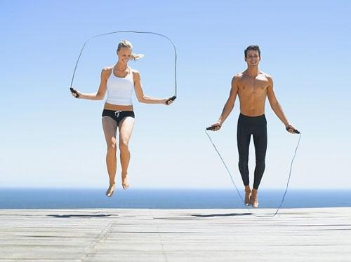 Nhảy dây bài tập tiêu tốn calo hiệu quả