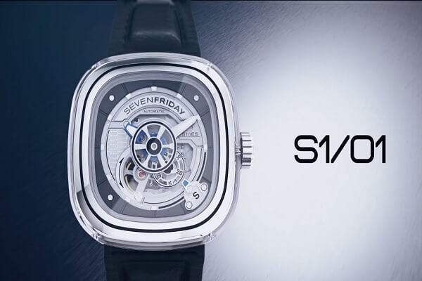 Đồng hồ SevenFriday S1-01 trong BST S Series