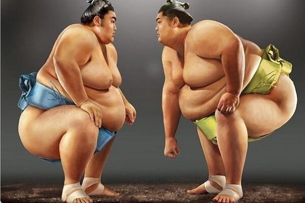 Sumo Nhật Bản mang màu sắc của thần đạo và các phong tục truyền thống