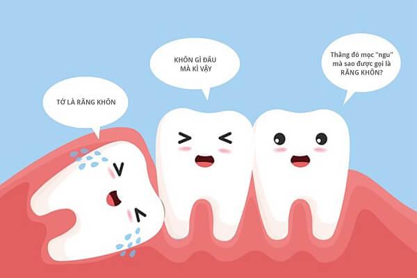 Không phải bất kỳ ai cũng đều mọc đủ răng khôn