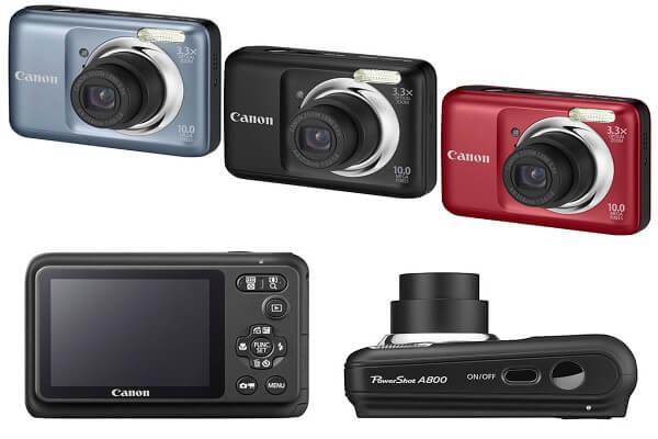 Máy ảnh mini Canon Powershot A800