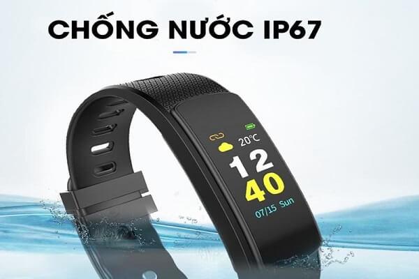 Vòng đeo tay thông minh Iwown I6 Hr-C